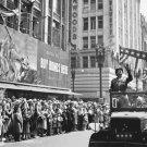 New 5x7 World War II Photo: U.S. General George Patton in Los Angeles Parade