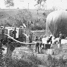 "New 5x7 Civil War Photo: Federal Observation Balloon ""Intrepid"" at Fair Oaks"