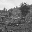 New 5x7 Civil War Photo: Front of Little Round Top at Gettysburg, Pennsylvania