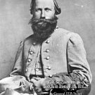 New 8x10 Civil War Photo: CSA Gen. James Ewell Brown (JEB) Stuart with Quote