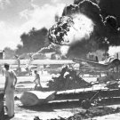 New 5x7 World War II Photo: Captured Japanese Photo Taken During Pearl Harbor
