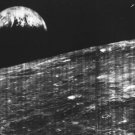 New 5x7 Space Photo: First View of Earth from the Moon by Lunar Orbiter I