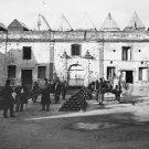 New 5x7 Civil War Photo: Rampart & Artillery Inside Fort Marion, Saint Augustine
