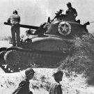 New 5x7 World War II Photo: M4 Sherman Tank in Sicily
