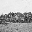 New 5x7 Civil War Photo: 1st Massachusetts Burying Dead near Spottsylvania