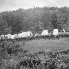 New 5x7 Civil War Photo: 50th Pennsylvania Infantry Camped at Gettysburg