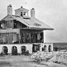 New 5x7 Civil War Photo: Beacon House on Morris Island after Fort Wagner Battle