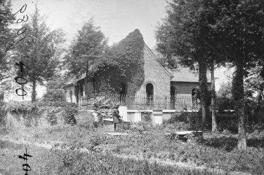 New 5x7 Civil War Photo: Blandford Church at Petersburg, Virginia