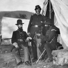 New 5x7 Civil War Photo: 93rd New York in Camp at Antietam - Sharpsburg