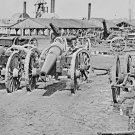 New 5x7 Civil War Photo: Captured Confederate Siege Guns at Rocketts, Richmond