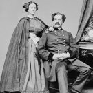 New 5x7 Civil War Photo: Union - Federal General Abner Doubleday & Wife