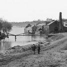 New 5x7 Civil War Photo: Tredegar Iron Works in Richmond, Virginia