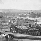 New 5x7 Civil War Photo: Ruins of State Arsenal and James River, Richmond