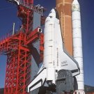 New 5x7 NASA Photo: Space Shuttle Enterprise in Launch Position on (SLC) #6