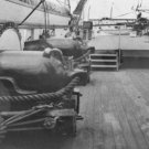 New 5x7 Civil War Photo: Naval Guns on USS Pawnee off Charleston Harbor