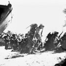 New 5x7 World War II Photo: First Wave of U.S. Marines to Hit Saipan Beach