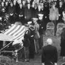 New 5x7 Photo: Honor Guard Folds Flag over Casket of President John F. Kennedy