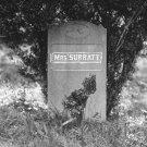 New 5x7 Photo: Grave of Abraham Lincoln Conspirator Mary Surratt