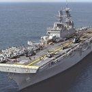New 5x7 Photo: Aircraft Carrier USS BATAAN Assault Ship in the Atlantic Ocean