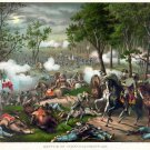 New 13x17 Poster: Battle of Chancellorsville by Kurz and Allison