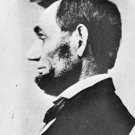 New 5x7 Photo: Profile Portrait of President Abraham Lincoln, 1863