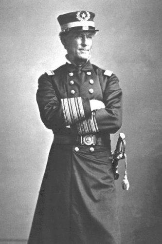 New 5x7 Civil War Photo: Union - Federal Admiral David Farragut, U.S. Navy