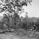 New 5x7 Civil War Photo: Burying the Dead after Antietam - Sharpsburg Battle