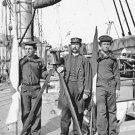 New 5x7 Civil War Photo: Signalmen of Rear Admiral John A. Dahlgren's Flagship