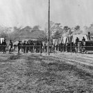 New 5x7 Civil War Photo: Headquarters of the 10th Corps at Hatcher's farm