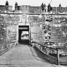 New 5x7 Civil War Photo: Sally Port of Fort Marion in Saint Augustine, Florida