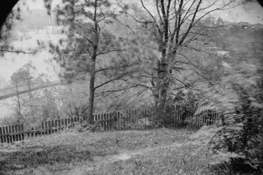 New 5x7 Civil War Photo: James River from Hollywood Cemetery in Richmond