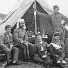 New 5x7 Civil War Photo: 7th New York State Militia at Camp Cameron, Washington