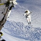 New 5x7 NASA Photo: Astronaut Tests System for Spacewalk Rescue