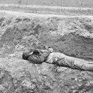 New 5x7 Civil War Photo: Dead Confederate Soldier at Petersburg, Virginia