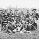 New 5x7 Civil War Photo: Brigade Officers of Horse Artillery at Fair Oaks, VA