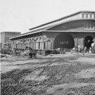 New 5x7 Civil War Photo: Boxcars with Refugees at Railroad Depot, Atlanta