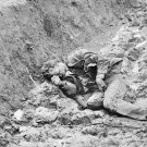 New 5x7 Civil War Photo: Casualty in Trench at Fort Mahone, Petersburg