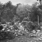 New 5x7 Civil War Photo: Slaughter Pen, Left Wing View of Battle of Gettysburg