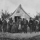 New 5x7 Civil War Photo: Army Post Office at Headquarters at Falmouth, Virginia