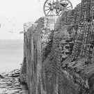 New 5x7 Civil War Photo: Breach Patched Wall with Gabions at Fort Sumter, S.C.