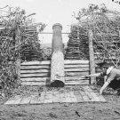 New 5x7 Civil War Photo: Confederate 'Quaker Gun' in Centreville, Virginia