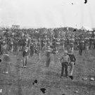 New 5x7 Civil War Photo: Crowd around Abraham Lincoln at Gettysburg Address