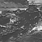 New 5x7 World War II Photo: USS DOWNES & USS CASSIN, Pearl Harbor