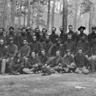 New 5x7 Civil War Photo: Company B of the U.S. Engineers at Petersburg, Virginia