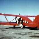 New 5x7 World War II Photo: Biplane at Civil Air Patrol Base in Bar Harbor