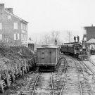New 5x7 Civil War Photo: Railroad Depot at Hanover Junction, Pennsylvania