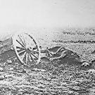 New 5x7 Civil War Photo: Hit Caisson & Mule at Battle of Gettysburg