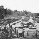 New 5x7 Civil War Photo: Union Ordnance at Broadway Landing, Virginia