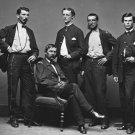 New 5x7 Civil War Photo: Union - Federal Cavalry General John Buford & Staff