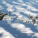 New 5x7 Photo: A Pair of A-10 Thunderbolt IIs from the 104th Fighter Wing